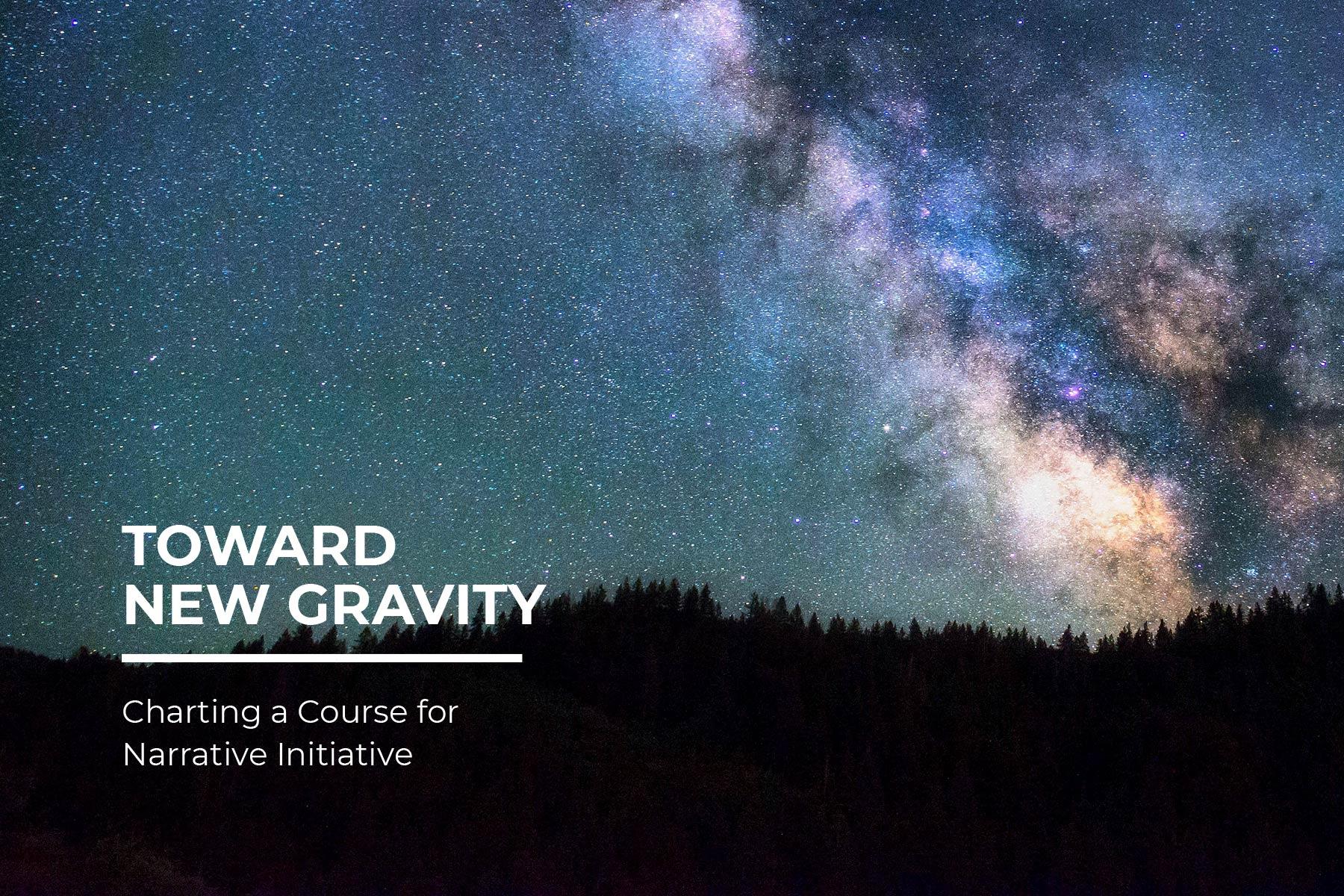 Toward New Gravity