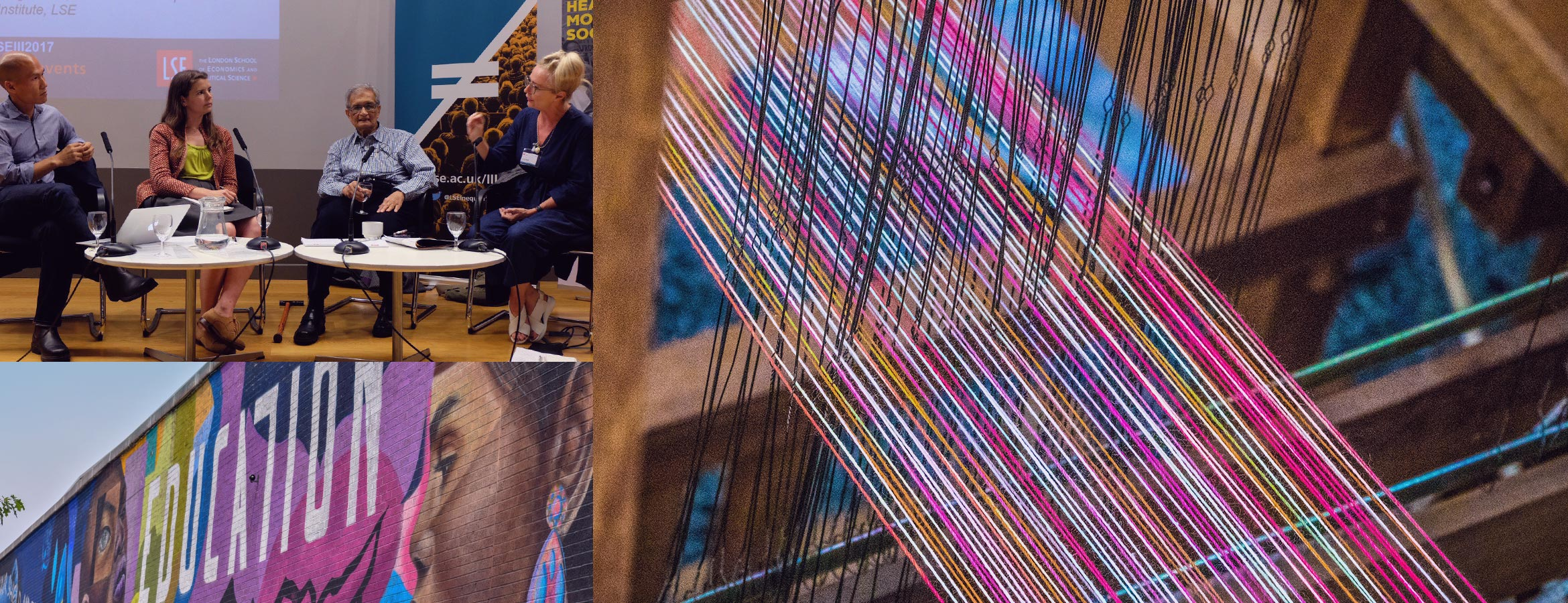 "<strong>The Loom</strong> is a symbol of cosmic creation and the structure upon which individual destiny is woven.  In Maya Cultures the goddess Ixchel, who is symbolized by the moon, taught the first woman how to weave at the beginning of time. <br>[source: <a href=""https://en.wikipedia.org/wiki/Loom"">en.wikipedia.org/wiki/Loom</a>]"