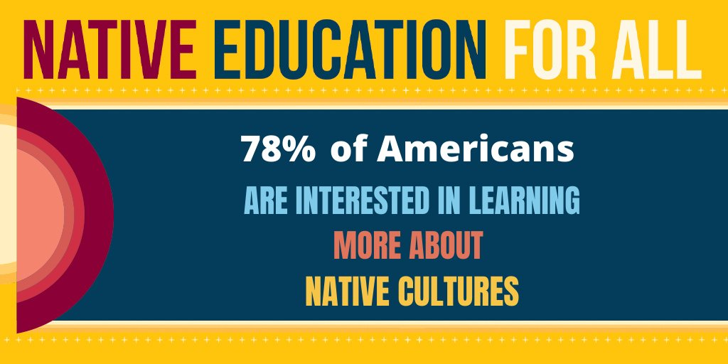 Research done by IllumiNative shows that 78% of Americans are interested in learning more about native cultures